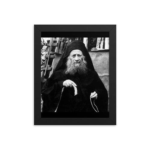 Framed poster - Elder Joseph the Hesychast