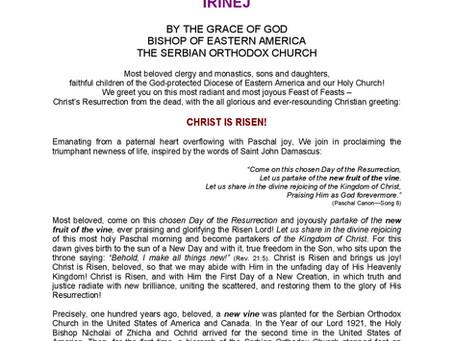 Pascha Encyclical 2021
