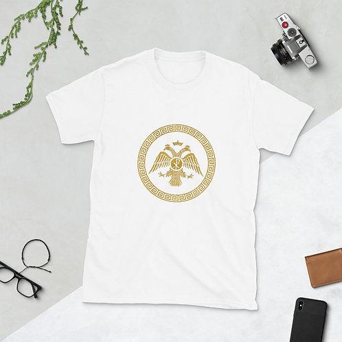 Short-Sleeve Unisex T-Shirt - Double Headed Eagle gold