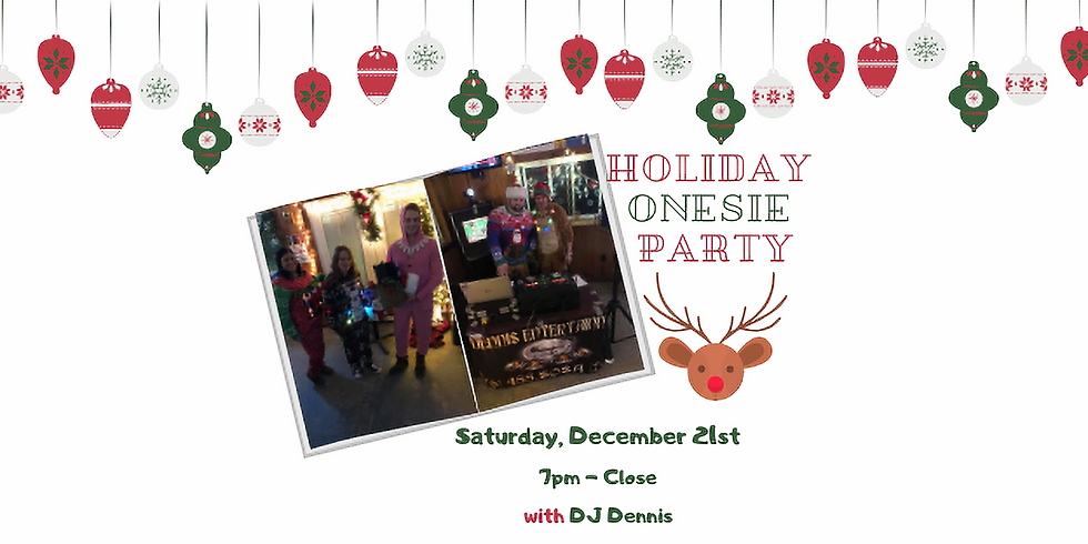 Holiday Onesie Party