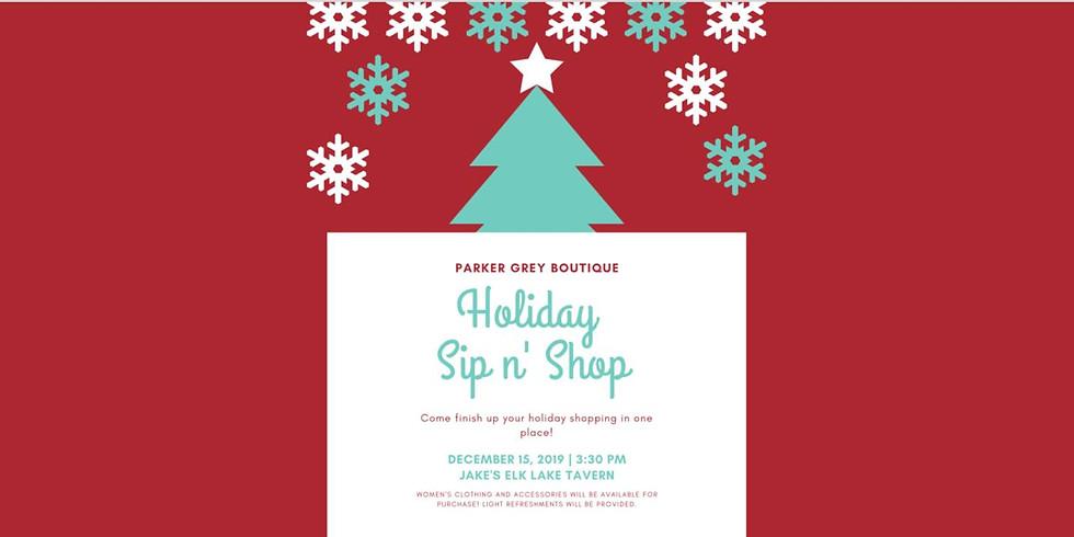 Parker Grey Boutique Sip & Shop