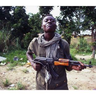 milicien, Congo-Brazzaville, 1999