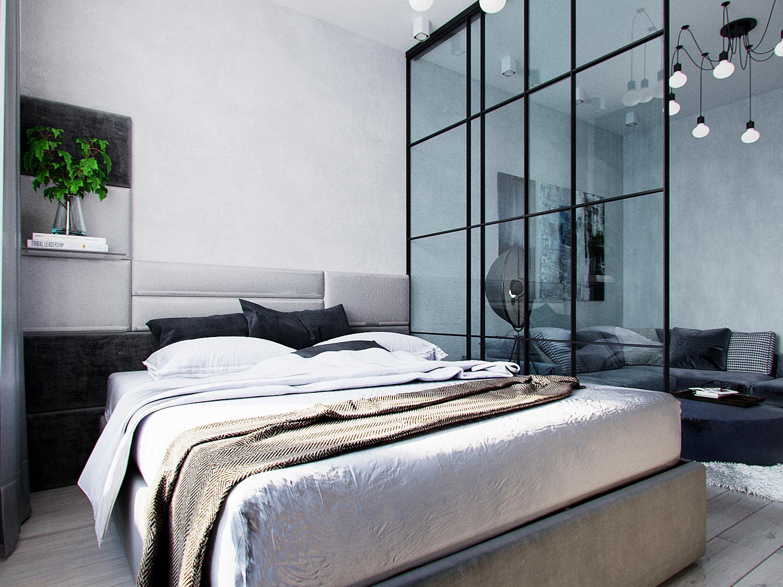 спальня лофт вид2
