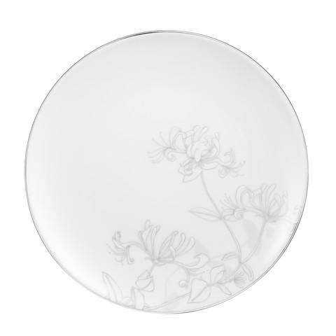 Forretts-/frokosttallerken hvit