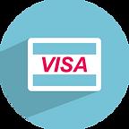 Paiement par carte bancaire Visa