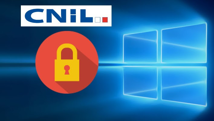 Windows 10 - Vie privée - CNIL