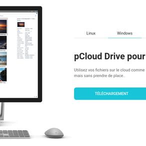 pCloud - Sauvegarde sécurisée et cryptée de vos données dans le Cloud