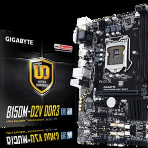 PC de bureau - Intel Pentium G64400 - Gigabytes GA-B150M-D2V - RAM 4 Go - SSD 64 Go - DD 1 To