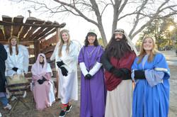 Live Nativity sponsored by SGA