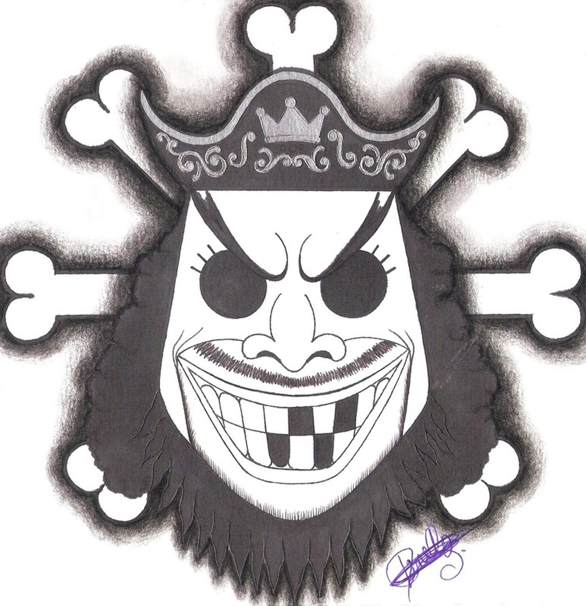 Marshall D Teach Pirate Warriors: Dessins De One Piece