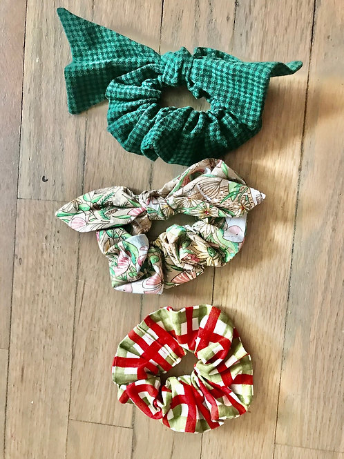 Cozy Winter Scrunchies Set