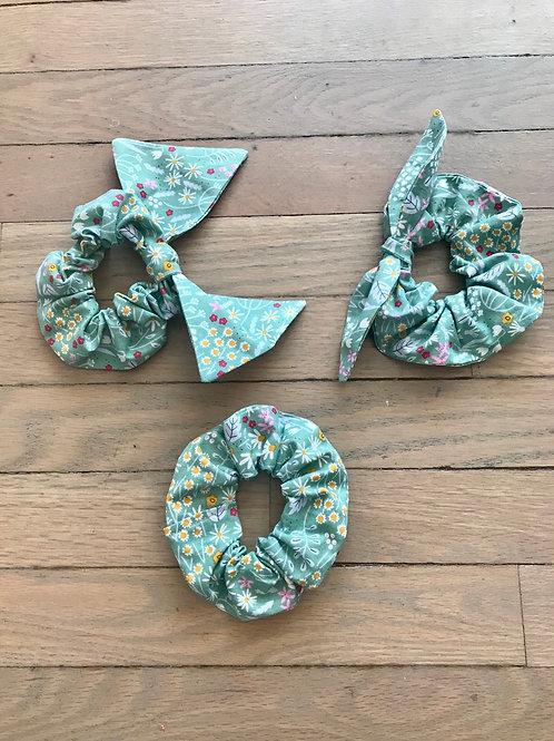 Rifle Paper Co. Floral Garden Scrunchies
