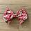 Thumbnail: Hair Bows | Red Floral Polka Dot