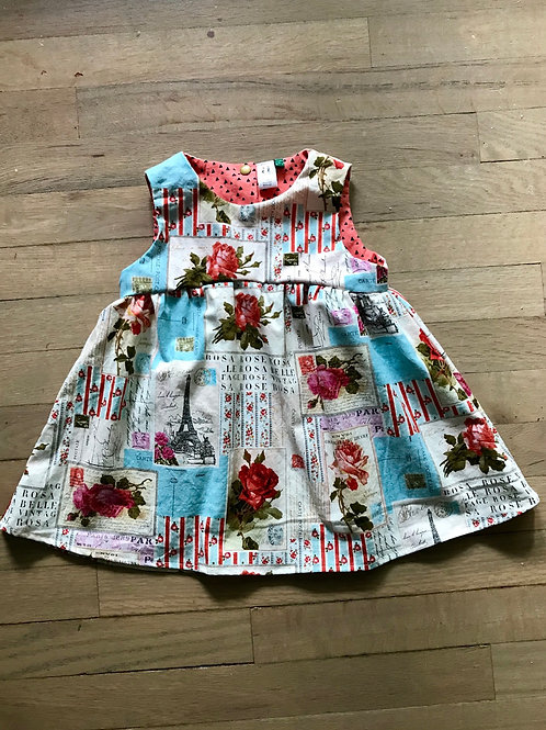 Penny | Rosy Postcards From Paris Dress