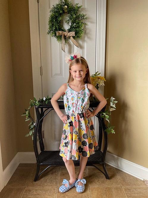 Monica | Among the Poppies Dress