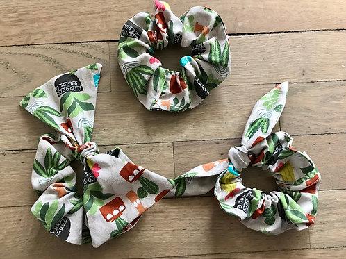 Plant Lady Succulent Scrunchies