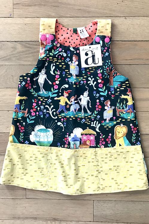 Sabine | Chestnut St. Collection | Wizard of Oz |Yellow Brick Road Jumper Dress