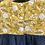 Thumbnail: Penny | Mustard Floral & Chambray Dress
