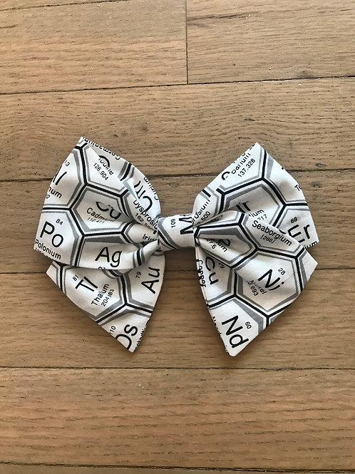 Black & White Periodic Table Bows