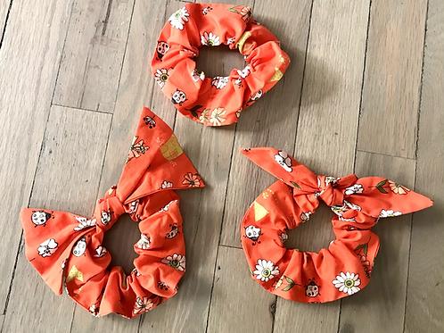 Scrunchies   Dainty Bugs & Flowers