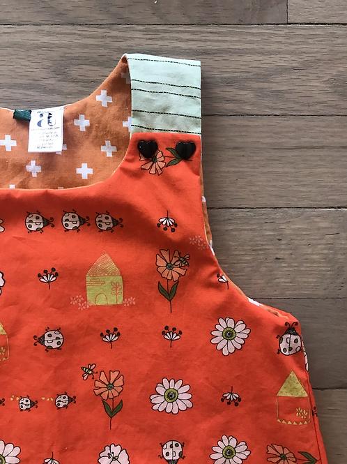 Sabine | Dainty Bugs & Flowers Jumper Dress