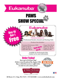 Eukanuba Show Flyer