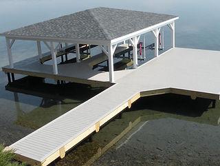 Dock Construction Seneca Lake