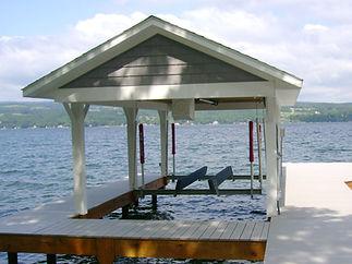 Boat Hoist Installation Canandaigua NY