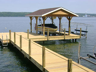Dock Builers and Boat Lift Installers cny