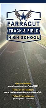 Farragut High School Track & Field Brochure