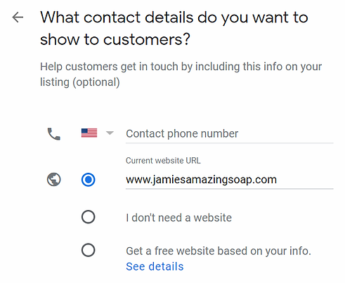 Google My Business Contact Details.webp