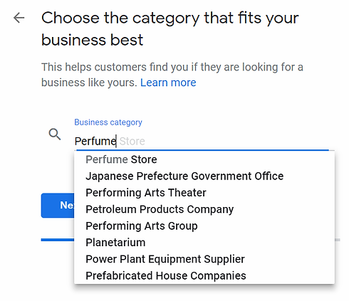 Google My Business Categoty.webp