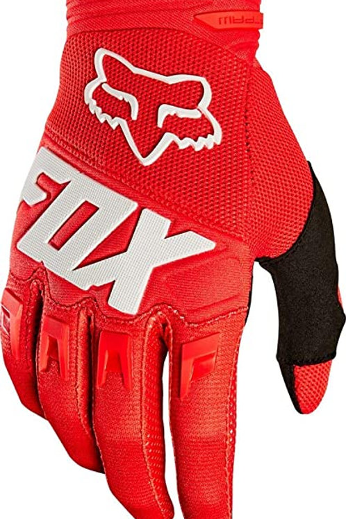 GUANTES FOX DIRTPAW ROJO