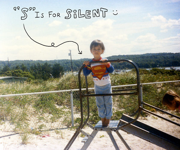 Photo of Silent James as a child in New York.