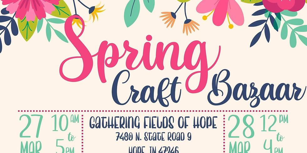 Spring Craft Bazaar