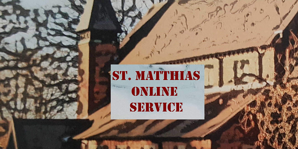 Online Service  (Sunday Evening at 7.00 pm)