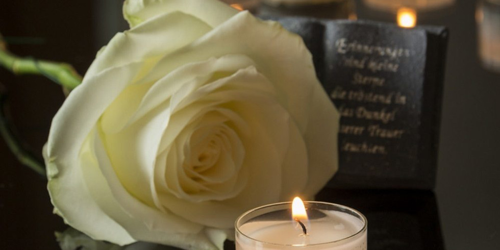 Annual memorial Service  (Sunday 2nd Dec 15:30)