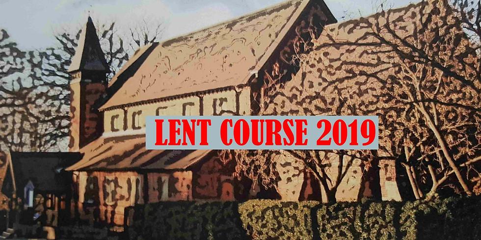 Love Actually Our 2019 Lent Course