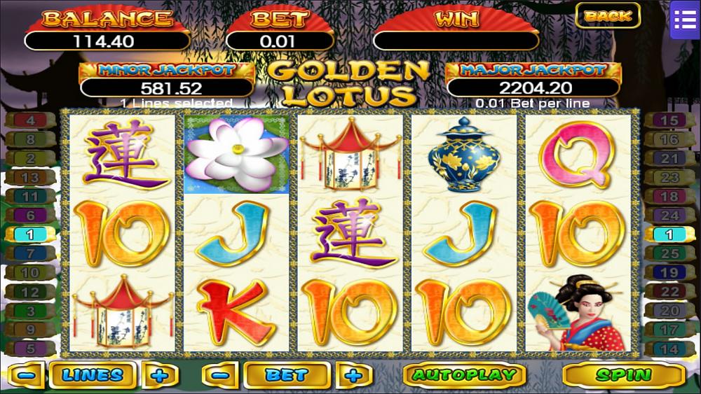 Golden Lotus Mega888