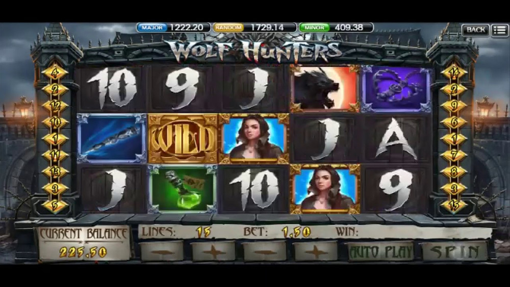 Wolf Hunter Mega888