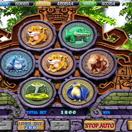 Cara Main Amazon Jungle 918Kiss