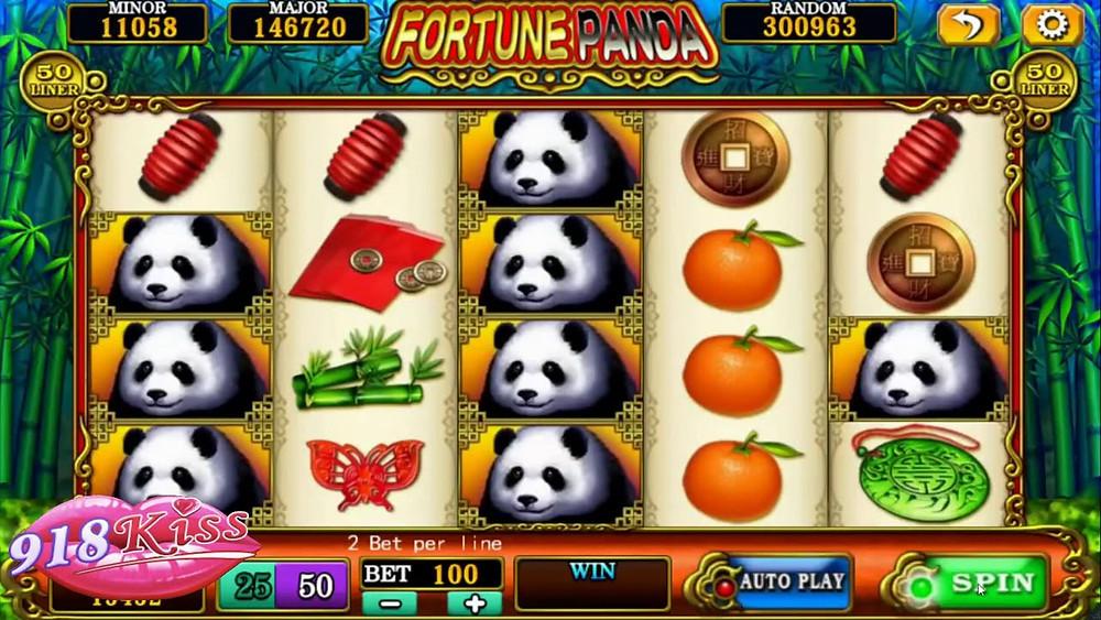 Fortune Panda 918Kiss/SCR888