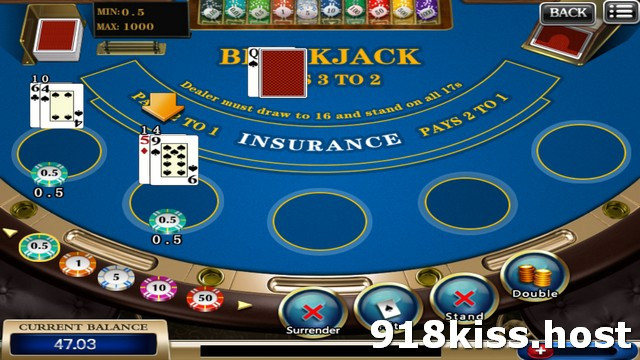 918Kiss Blackjack