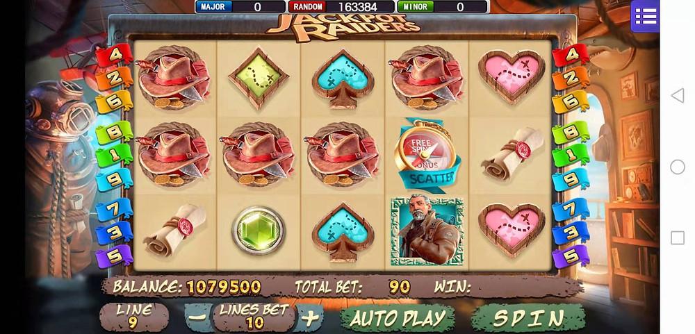 Jackpot Raiders Mega888