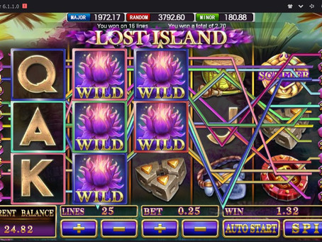 Strategi Main Lost Island Mega888