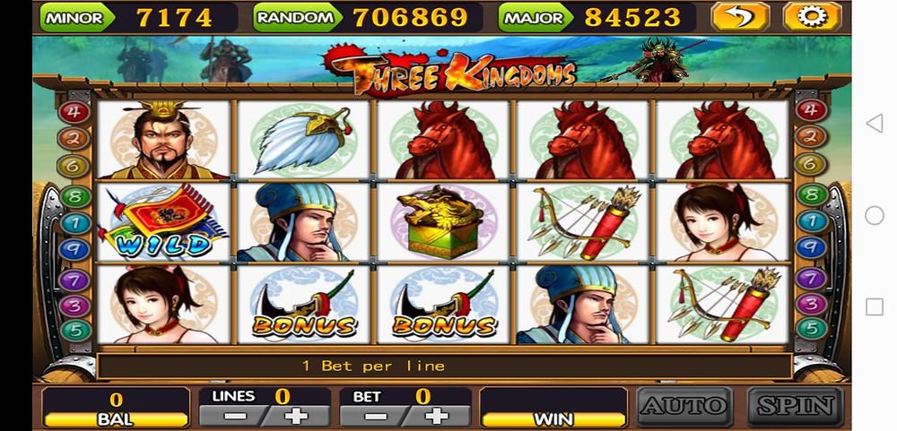 Three Kingdom 918Kiss