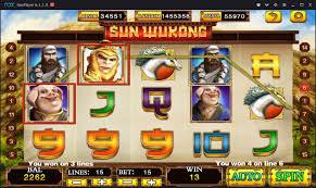 Cara Main Sun Wu Kong Mega888
