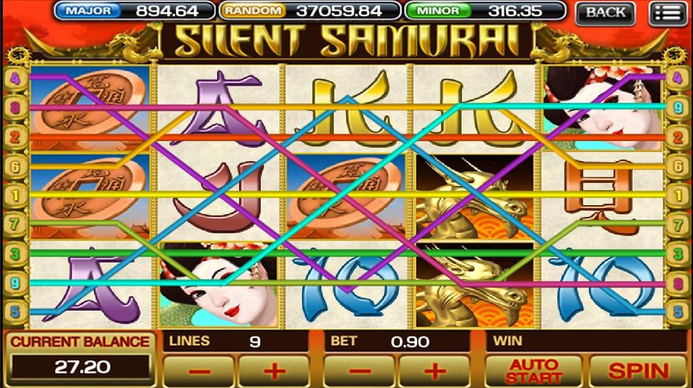 Silent Samurai Mega888