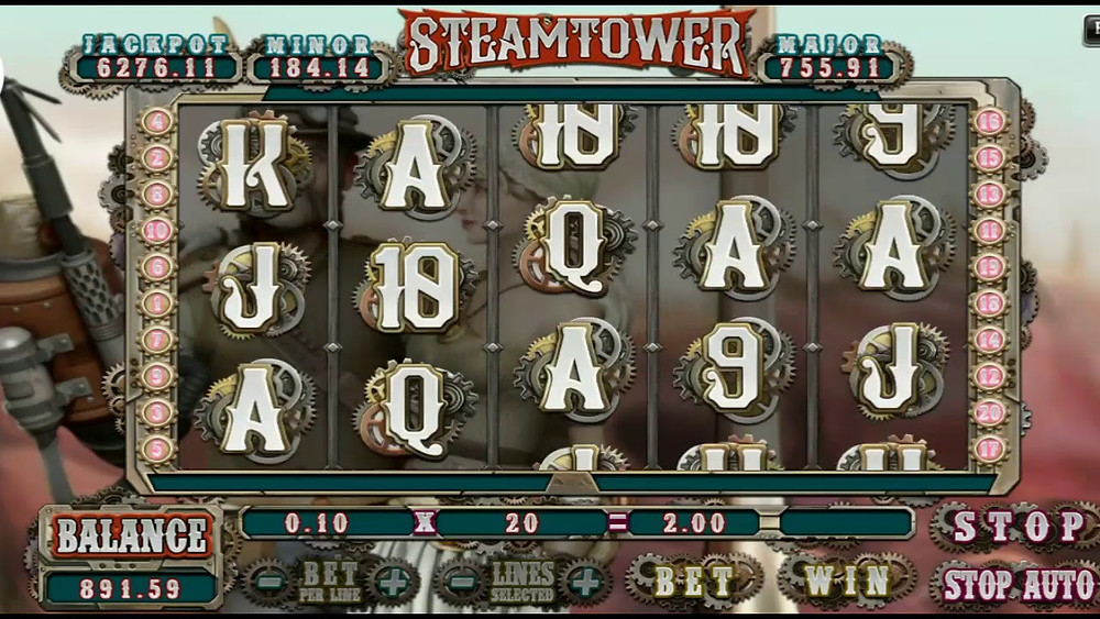 Steam Tower 918Kiss/SCR888