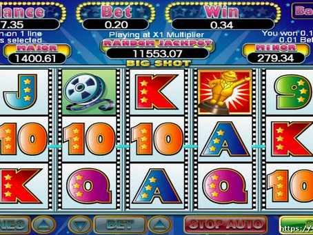 Cara Main Big Shot Slots 918Kiss/SCR888